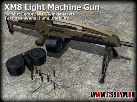 Скачать M249 (XM8 Light Machine)