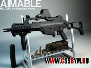 Скачать M4a1 для CSS (aimable g36c by shortez updated)