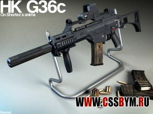 Скачать M4a1 для Counter Strike Source (hk g36c by shortez)