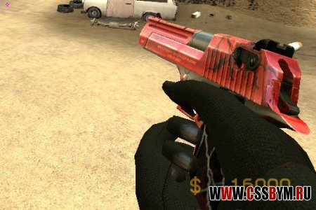 Скачать Deagle (Joes electric red black deag)