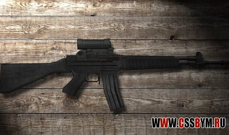 Скачать модель Galil - AR70 Hack Lazer Removed