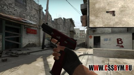 Скачать модель Five-Seven для Counter-Strike: Global Offensive - Shomy's