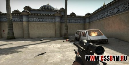 Скачать модель AWP для Counter-Strike: Global Offensive - The Old & Dusty AWP
