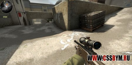 Скачать модель AWP для Counter-Strike: Global Offensive - Desert Awp For csgo