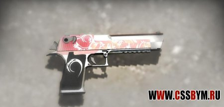 Скачать Deagle для Counter-Strike: Global Offensive - Red Tail admin deagle