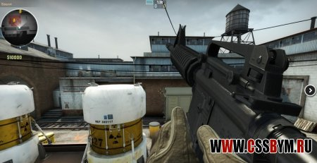 Скачать M4A1 CSGO - M16 ANIMATION CS:Source